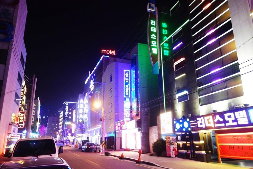 大邱のラブホテル街