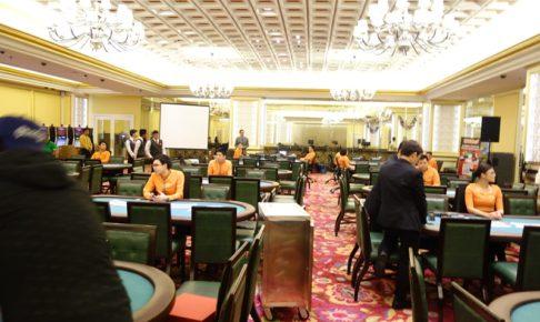フィリピンでポーカー